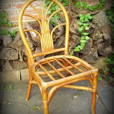 Vintage Bamboo Chairs Wonderful Bamboo Rattan Chairs With Arm Chair Circa Who U2013 Martaweb