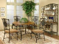 wrought iron dining table glass top magnificent ideas wrought iron dining table chic glass top wrought