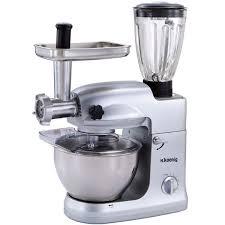 machine multifonction cuisine pétrin multifonctions pro km78 koenig 1000w achat vente
