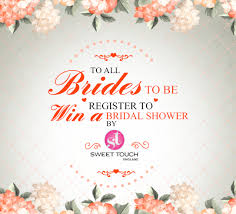 where to register for a bridal shower she said yes bridal shower