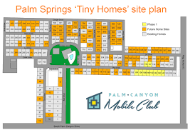 Palm Springs Map Palm Canyon Mobile Club Palm Springs Neighborhood Homes For