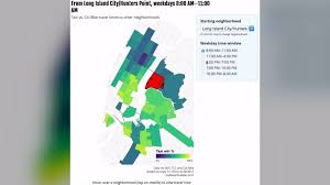 brooklyn lexus taxi new interactive map shows best time to take citi bike u2014 and when