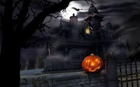 download wallpaper 3840x2400 halloween pumpkin lantern house