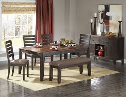 Best  Dining Set With Bench Ideas On Pinterest Wood Tables - Dining room sets with benches