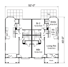 house picture of 4 unit multi family house plans 4 unit multi
