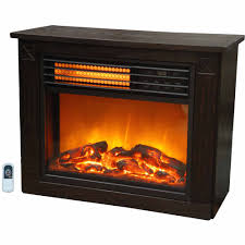 chimneyfree media electric fireplace for tvs up to 65