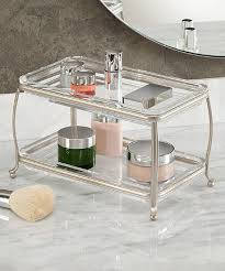 Bathroom Vanity Tray by Interdesign Satin York Lyra Two Tier Vanity Tray Zulily