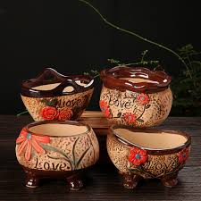 Cute Flower Pots by Online Get Cheap Ceramic Flower Pots Wholesale Aliexpress Com