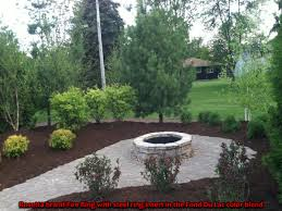 fire rings crown point in creative landscape services