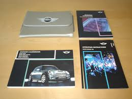 bmw mini mki owners handbook 2001 2006 mini one cooper one
