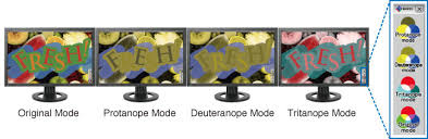 Color Blind What Do They See Unicolor Pro U2015 About Unicolor Pro Eizo