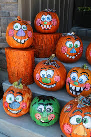 Halloween Pumpkin Crafts Best 20 Pumpkin Faces Ideas On Pinterest Candle Carving Diy