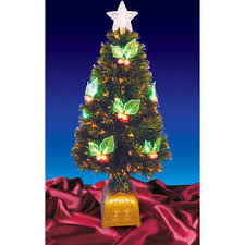 fiber optic christmas decorations northlight 4 pre lit fiber optic christmas tree sears marketplace
