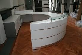 Modern White Reception Desk Home Design Modern Round Reception Desk Artisans Architects