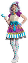 doc mcstuffins costume spirit halloween madeline hatter ever after high girls rebel costume 884911 911
