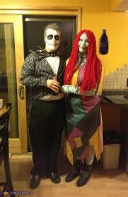 Sally Halloween Costume Adults Skellington Sally Couples Costume