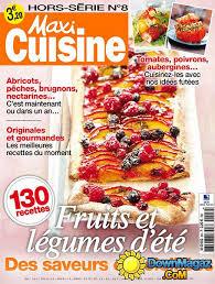 maxi cuisine magazine maxi cuisine hors série été 2014 no 8 pdf magazines