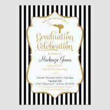 graduation invitation cosmetology graduation invitations career catalog
