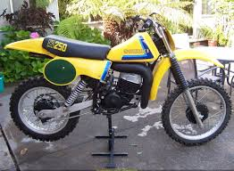 1975 suzuki rm125 dirt bike my friend pam and i roads them