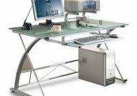 Small Glass Top Computer Desk Computer Desk Glass Lovely Walker Edison Solo Small Glass Top