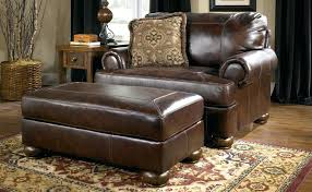 small home chairs chair and half ottoman simple leather with on small home