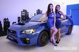 subaru sports car wrx new look subaru wrx u0026 wrx sti launched from rm238k video