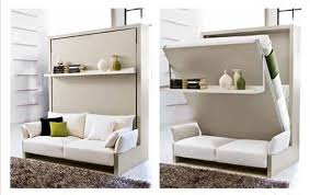 smart furniture like a transformer small family wallbed bachelor