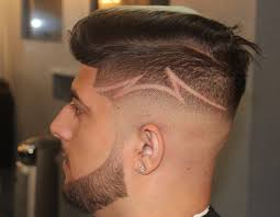 barber tutorials undercut fade design comb over fade by zay the