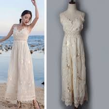 lace jumpsuits casual embroidery lace jumpsuit 2017 summer trending