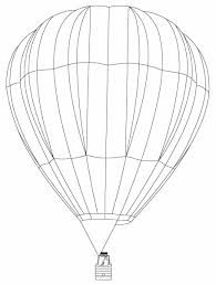 air balloon coloring pages for kids coloringstar