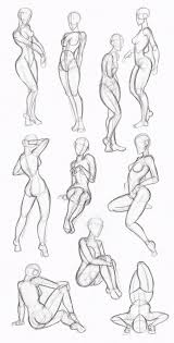 How To Draw Female Anatomy The 25 Best Female Poses Ideas On Pinterest Female Pose