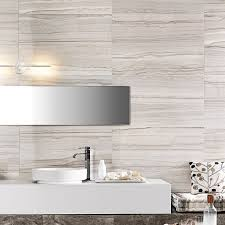 Bathroom Tile Ideas White by Marmi Elegance Striato Rectified Wall Tile Black And White