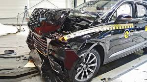 audi jeep 2016 audi q7 2016 crash test youtube