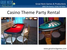 nyc party rentals casino theme party rental ny nj nyc ct pa
