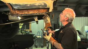 Classic Ford Truck Body Panels - patch panels installation and hand forming automotive panels from