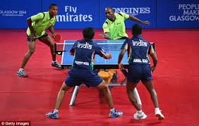 Table Tennis Doubles Rules Nigeria Defeat India To Table Tennis Bronze As Star Man Ojo