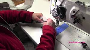 How To Make A Cushion With Zip Upholstery How To Install A Zipper For A Boxed Cushion Youtube