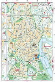 Map Spain Cordoba Street Map