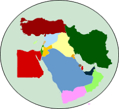 middle east map interactive middle east mapchart