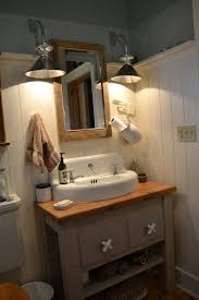 Cottage Bathroom Vanity Cabinets by Farmhouse Style Bathroom Vanity Lighting Home Vanity Decoration