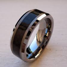 black wedding bands for him and black tungsten wedding bands inspiration and ideas here