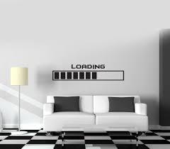 Nursery Decals For Walls by Gamer Wall Vinyl Decal Gaming Loading Joystick Nursery Room Decor