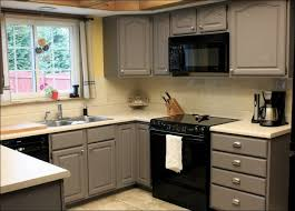 Easiest Way To Paint Cabinets Kitchen Easiest Way To Paint Cabinets Painted Gray Kitchen