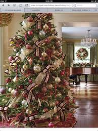 burgundy and gold christmas tree christmas pinterest gold