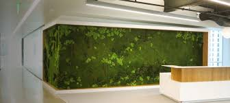 vertical garden all natural preserved plants for interior wall