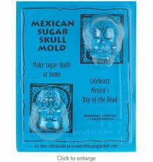 sugar skull molds original mexican sugar skull molds medium set of 2