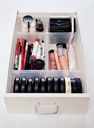 ikea makeup organizer plastic ikea inserts called antonius to organize makeup and lots of