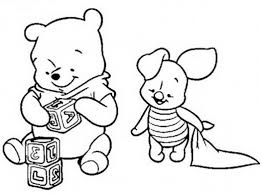 coloring pages colorings net bbaby colouring baby winnie the pooh