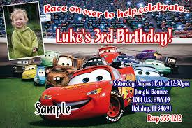 Jungle Theme Invitation Card Disney Cars Birthday Invitations U2013 Gangcraft Net