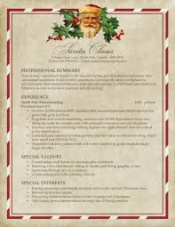 Resume Look Like Santa U0027s Resume Pongo Blog